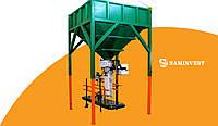 Линия фасовки (фасовочное оборудование) сыпучей продукции в мешки