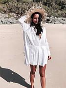 Пляжная туника - рубашка