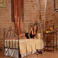 Металлическая кровать 3 размер 90 на 200 см