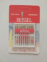 """Иглы """"BEISSEL"""" для бытовых швейных машин  UNIVERSAL/STANDART  (10 игл на блистере)"""