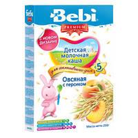 Каша молочная Bebi Premium (Беби Премиум) овсяная с персиком, 250 г 1104847