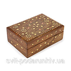 Шкатулка деревянная для украшений WBS158