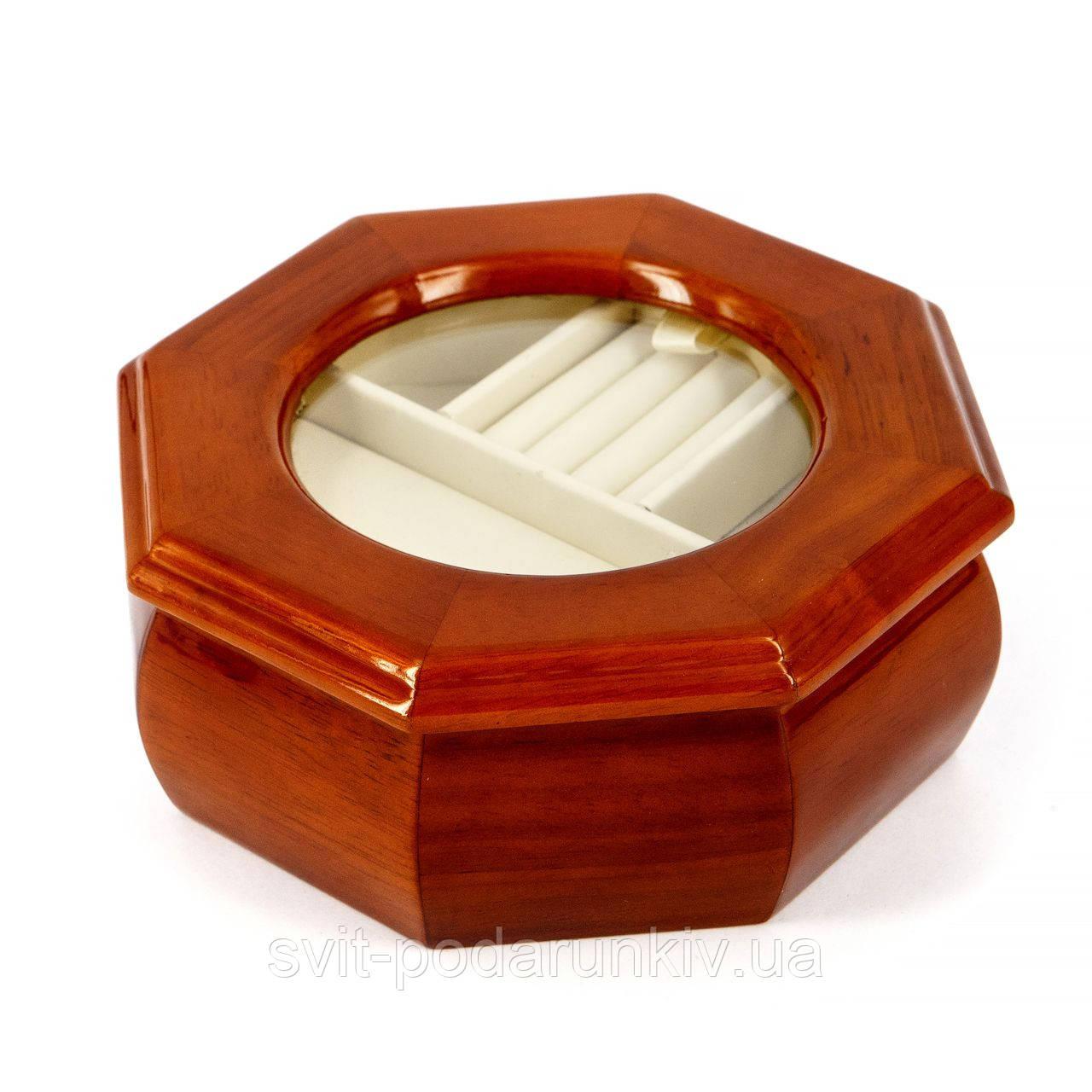 Шкатулка для драгоценностей в форме восьмигранника BJS012