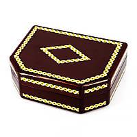 Деревянная шкатулка для ювелирных украшений BJS510-3