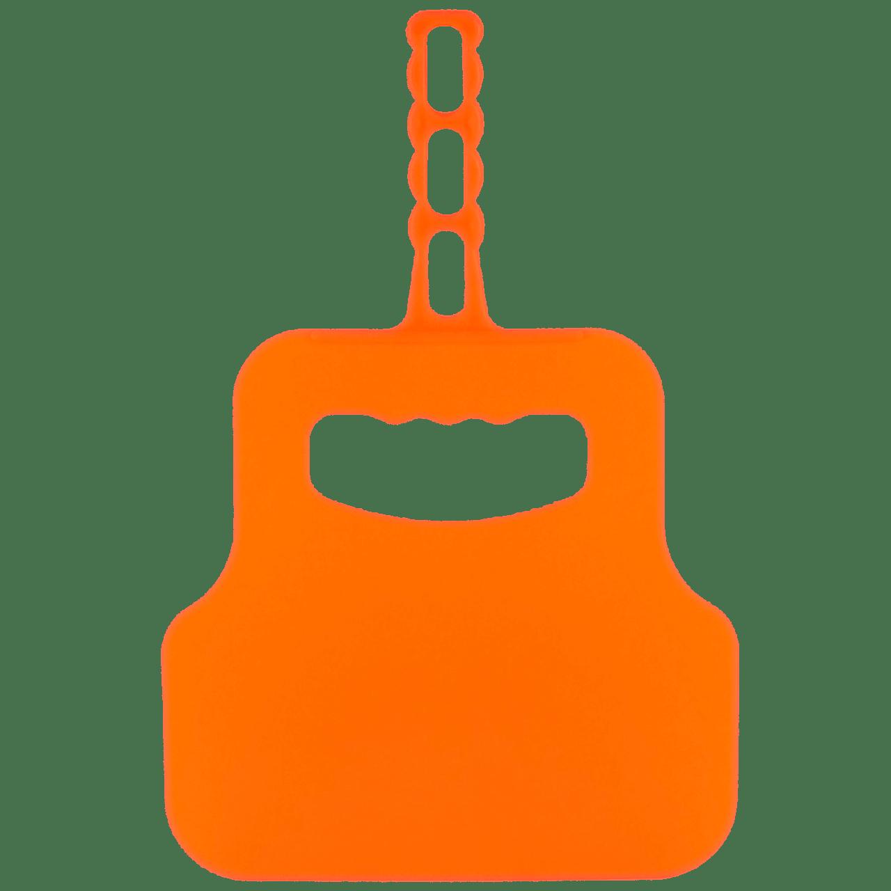Веер для угля оранжевый
