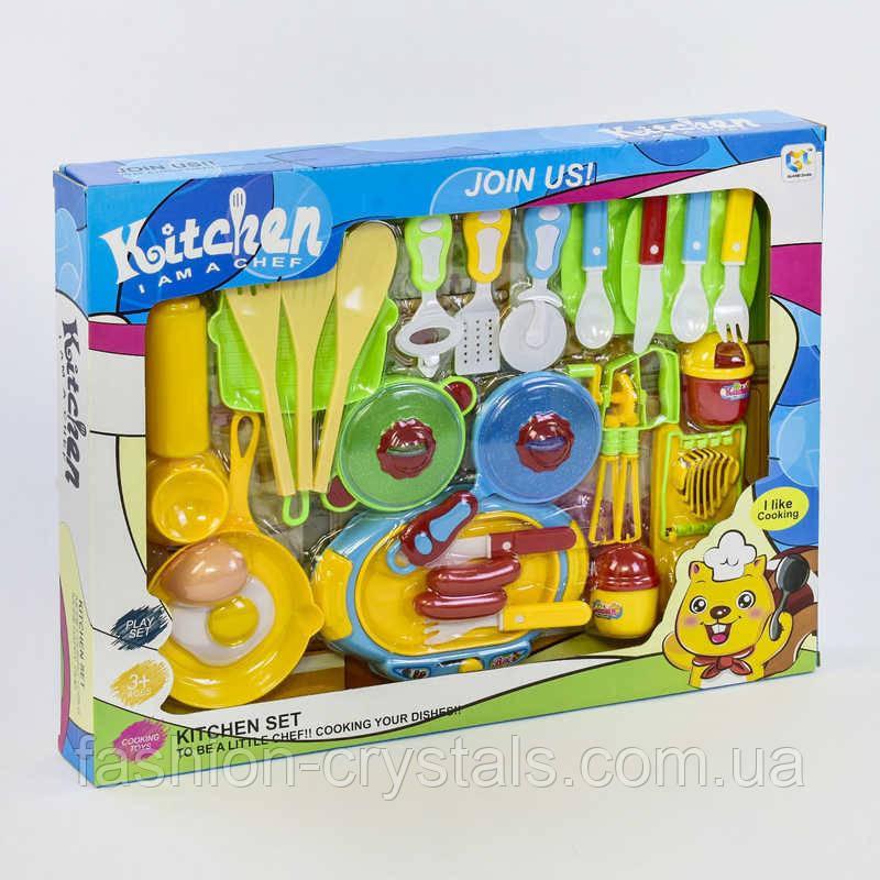 Игровой набор посуды kitchen chef