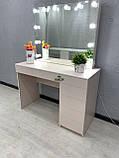 Робочий стіл візажиста з підсвічуванням V399, фото 3