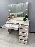 Робочий стіл візажиста з підсвічуванням V399, фото 6
