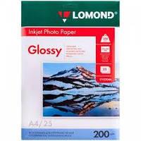 Фотобумага Lomond Photo Paper A4 глянцевая 200 г/м (25 шт.)