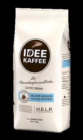 Кава зерно IDEE KAFFEE Caffè Crema 1 кг