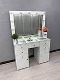 Стол визажиста с зеркалом и подсветкой V404, фото 5