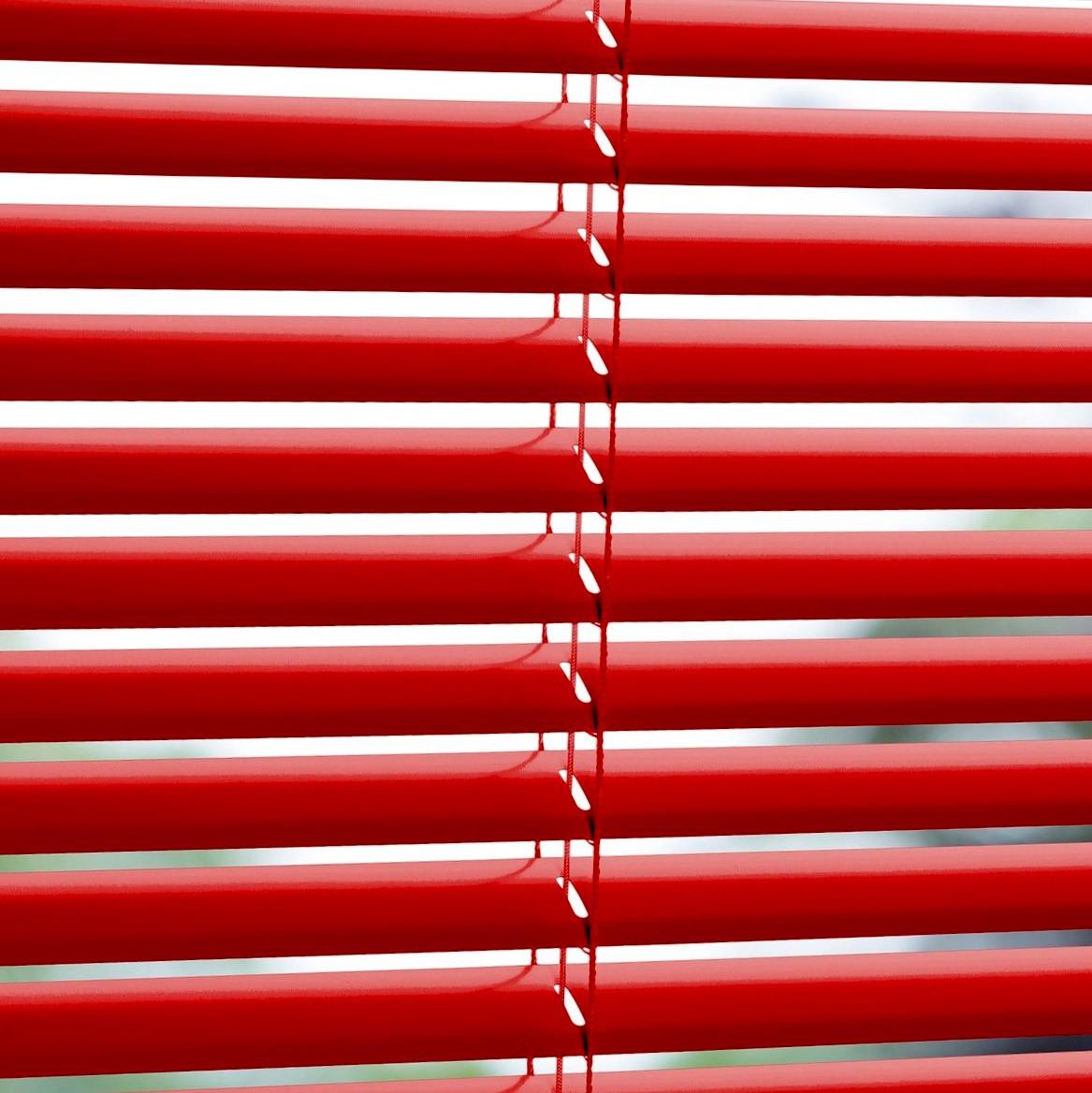 Горизонтальные жалюзи красные  25 мм , фото 1