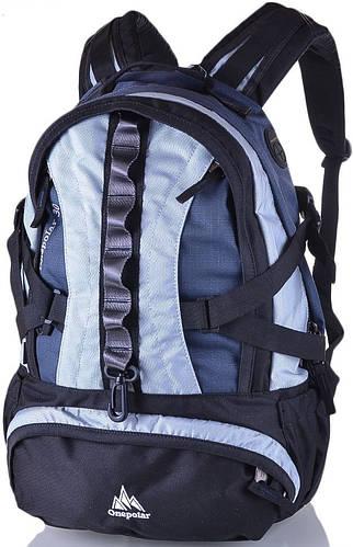 Рюкзак молодежный, повседневный 25 л. Onepolar W1003-grey серый