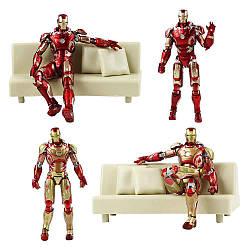 Фігурка Залізна Людина Марк 43 з Диваном - Iron Man, Mark 43 Avengers age of ultron