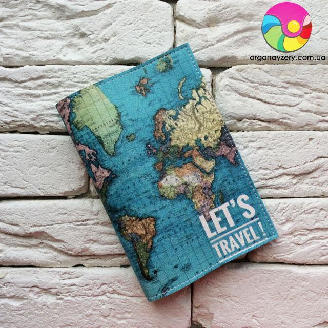 """Обложка для паспорта Карта"""" 3"""