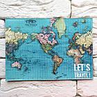 """Обкладинка для паспорта Карта"""" 3, фото 3"""