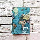 """Обкладинка для паспорта Карта"""" 3, фото 2"""