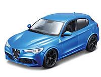Автомодель Bburago 1:24 Alfa Romeo Stelvio ассорти красный и синий металлик (18-21086)