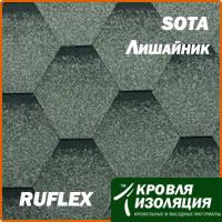 Гибкая черепица RUFLEX Sota Лишайник