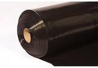 Пленка полиэтиленовая черная 60 мкм рукав 3000 мм(5% красителя), фото 1