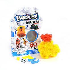 """Конструктор-липучка """"Bunchems"""" Angry Birds Желто - красный"""
