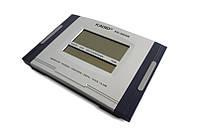 🔝 Настенные часы Kadio (KD-3809N), Черные, электронные часы настольные с большим экраном | 🎁%🚚