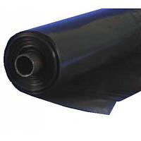 Пленка полиэтиленовая  черная 80 мкм рукав 3000 мм(5% красителя), фото 1