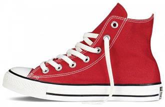 Кеды Converse All Star высокие Replica (реплика) красные New Styles, фото 2