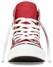 Кеды Converse All Star высокие Replica (реплика) красные New Styles, фото 3
