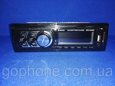 Автомагнитола MP3 4040BT FM/USB/TF 4x45 Вт, фото 2