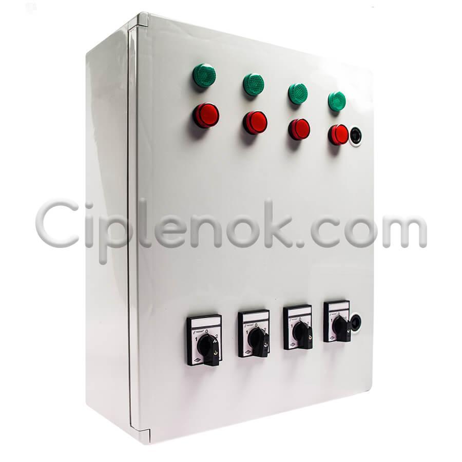 Контрольная панель для линии кормления (4 линии)