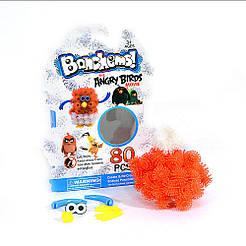 "Конструктор-липучка ""Bunchems"" Angry Birds Красно - белый"