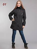 Куртка женская коттоновая черная, фото 1