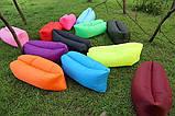 Ламзак Lamzak lamzac надувной диван кресло лежак гамак шезлонг диван матрац  AIR sofa, фото 6