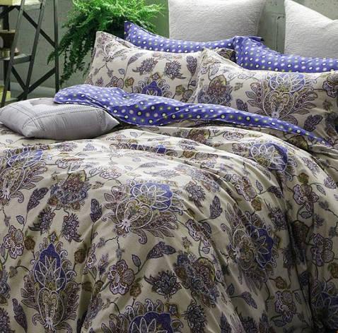 Комплект постельного белья Полуторный 160Х220 Сатин Хлопок 100% TL171805, фото 2