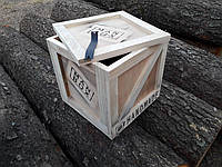 Woody box (Man box), подарочный ящик из дерева