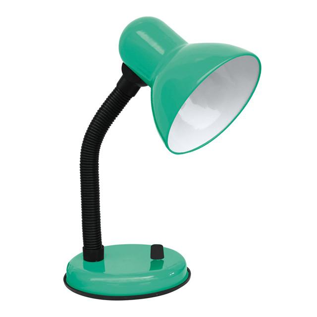 Настольная лампа на подставке LU-LN-2222 60W E27 зеленая TM LUMANO
