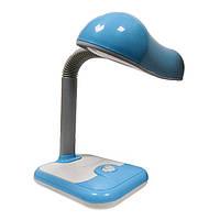 """Настiльна стильна дитяча LED лампа 7W """"Світлячок"""" LU-700-0924 синя TM LUMANO 12м.гар."""