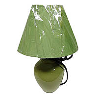 Настольная лампа-торшер зеленая CARLOS E27 IP20 LUMANO