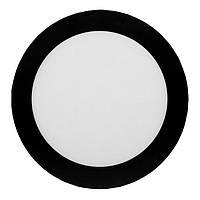Панель LED накл.BLACK LU-SF-RD-18C 4000K 18W круг(210*28см) алюм.корп(12міс.гар) (30шт/ящ) TM LUMANO