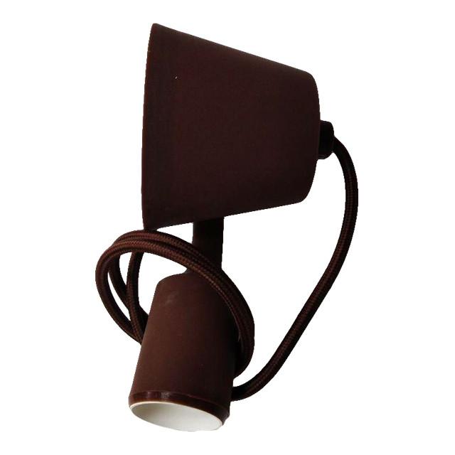 Светильник силиконовый ART-LOFT E27 коричневый LUMANO
