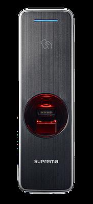 Антивандальный считыватель отпечатков пальцев с NFC модулем Suprema BioEntry W2 (BEW2-OAP)