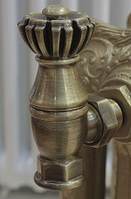 """Вентиль (кран) для дизайн радиаторов Liberty 1/2"""""""