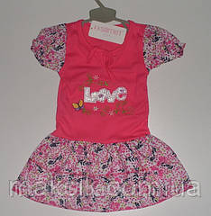 Платье для девочки р.74