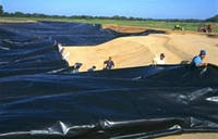 Пленка полиэтиленовая черная 120 мкм рукав 3000 мм(5% красителя), фото 1
