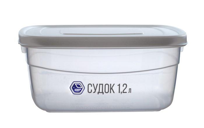 Судок 1,2 л білий (арт. 91б)