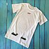 Мощная футболка Off-White Roses. Бирка ориг, фото 2