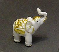 Слоник фарфоровый 7,5 см.