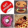 РАСПРОДАЖА! Пляжный коврик пицца, гамбургер, пончик. Коврик для пляжа по супер цене!