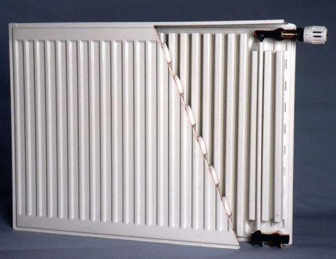 Радиатор стальной Sanica (Турция) 22К 500*400